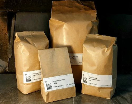 Flour for Online Sourdough Baking Course