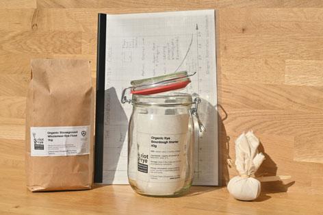 Riot Rye Organic Sourdough Starter