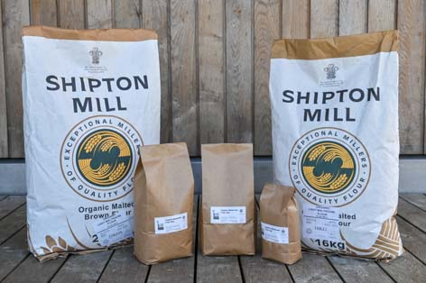 Organic Malthouse Flour